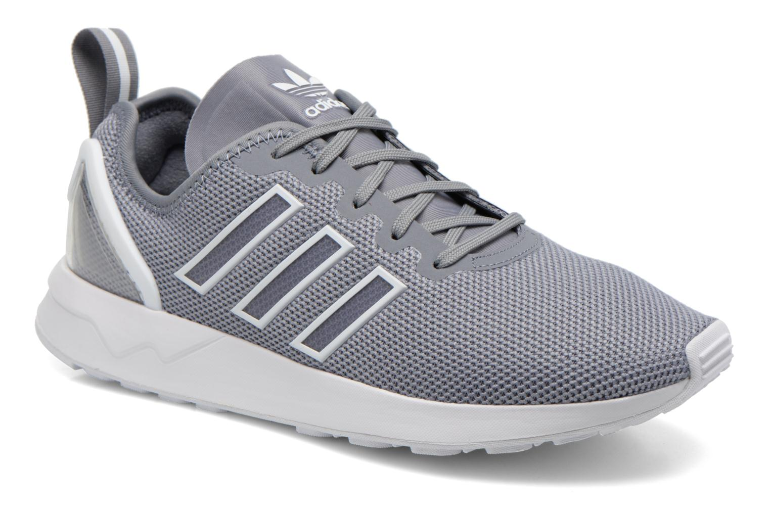Trainers Adidas Originals Zx Flux Adv Grey detailed view/ Pair view