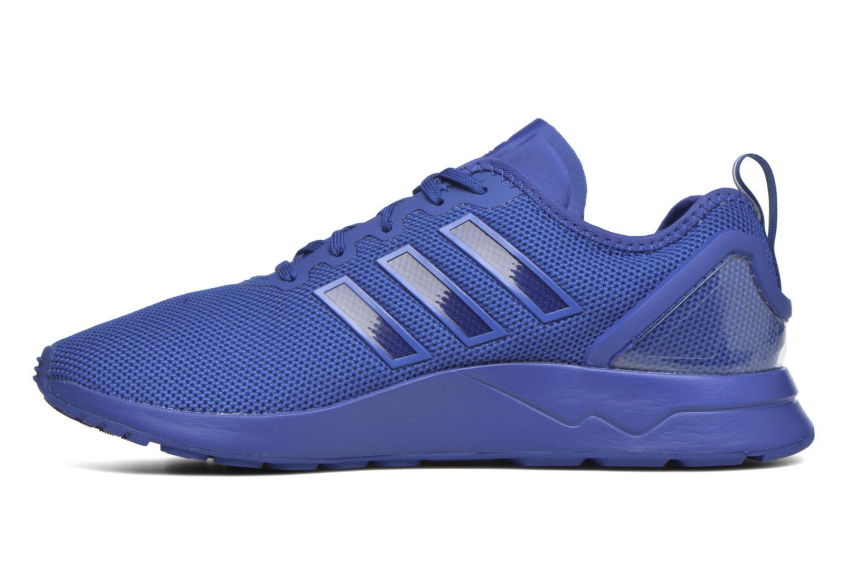 Baskets Adidas Originals Zx Flux Adv Bleu vue face