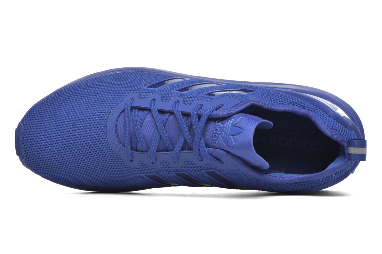 Baskets Adidas Originals Zx Flux Adv Bleu vue gauche
