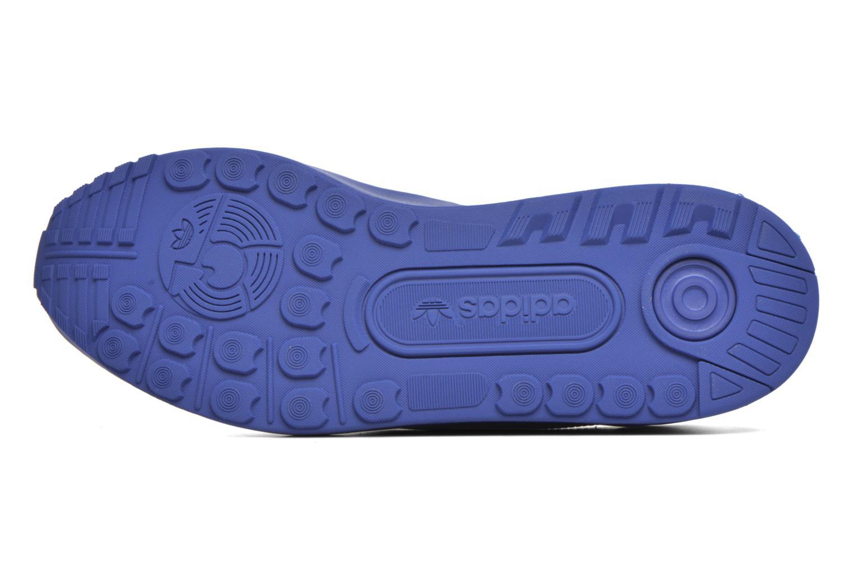 Baskets Adidas Originals Zx Flux Adv Bleu vue haut