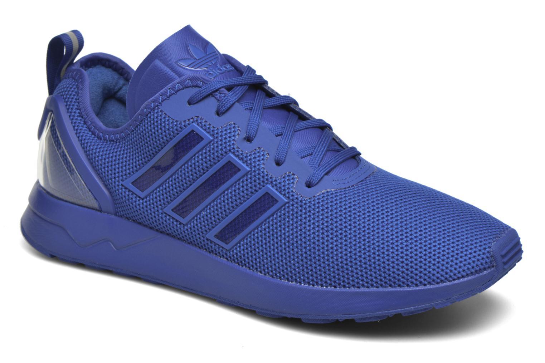 Baskets Adidas Originals Zx Flux Adv Bleu vue détail/paire