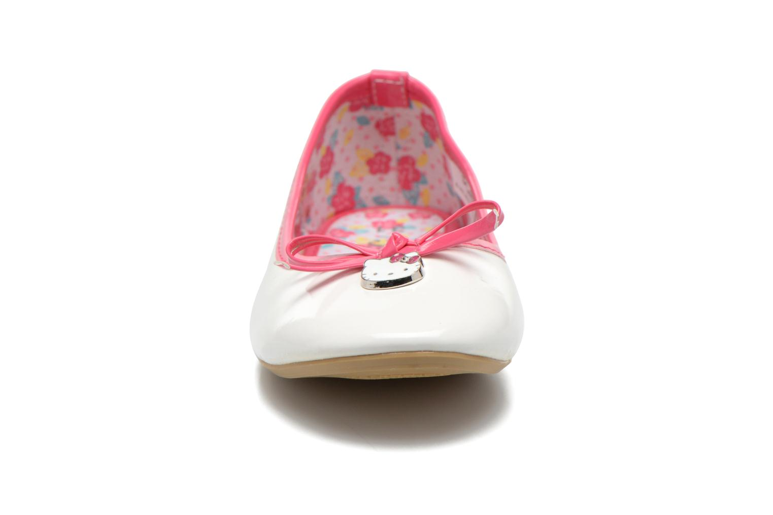 Ballerines Hello Kitty Hk Veale Ss El Blanc vue portées chaussures