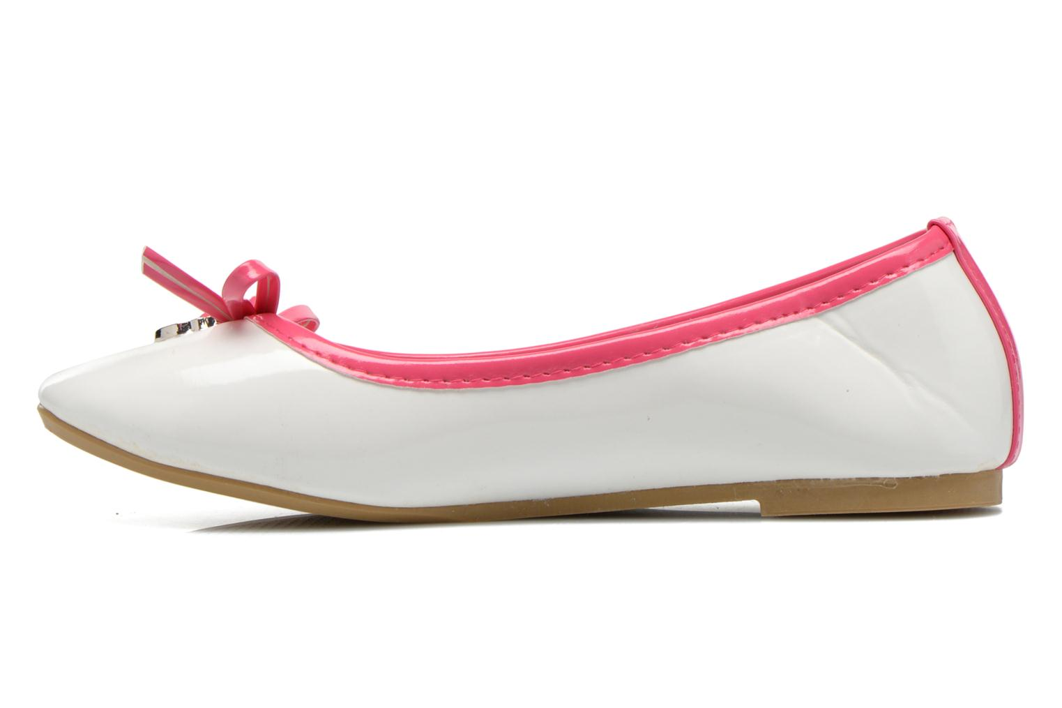 Ballet pumps Hello Kitty Hk Veale Ss El White front view