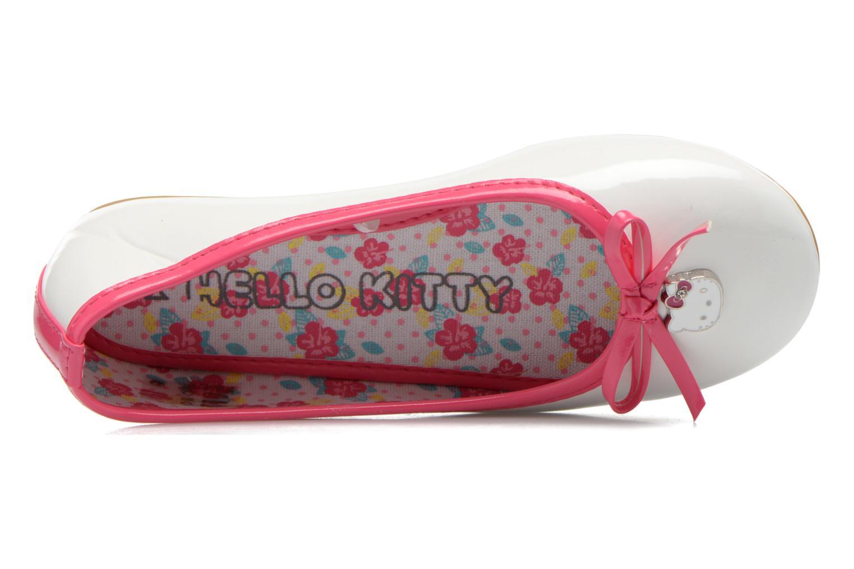 Bailarinas Hello Kitty Hk Veale Ss El Blanco vista lateral izquierda