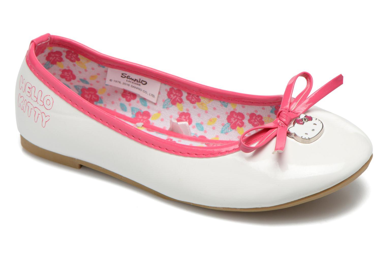 Bailarinas Hello Kitty Hk Veale Ss El Blanco vista de detalle / par