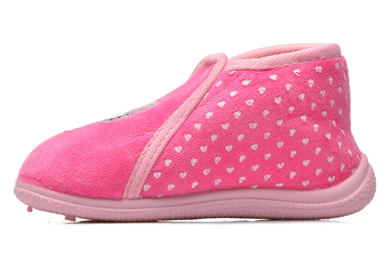 Pantuflas Hello Kitty Hk Reste Rosa vista de frente