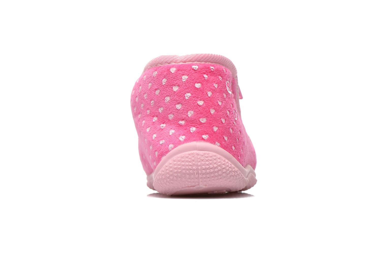 Hausschuhe Hello Kitty Hk Reste rosa ansicht von rechts