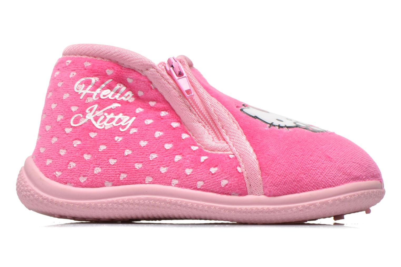 Pantuflas Hello Kitty Hk Reste Rosa vistra trasera
