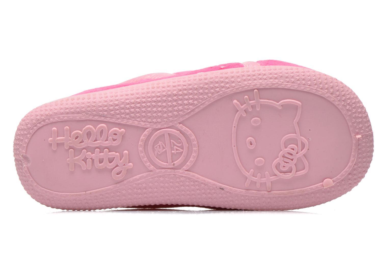 Hausschuhe Hello Kitty Hk Reste rosa ansicht von oben