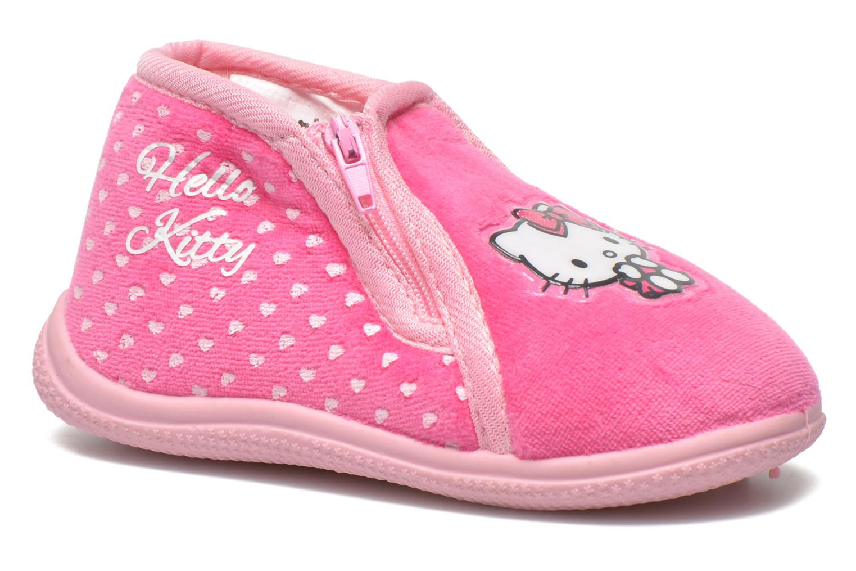 Pantuflas Hello Kitty Hk Reste Rosa vista de detalle / par