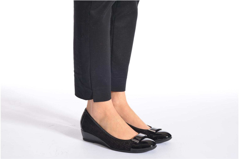 Zapatos de tacón Stonefly Maggie II 2 Negro vista de abajo
