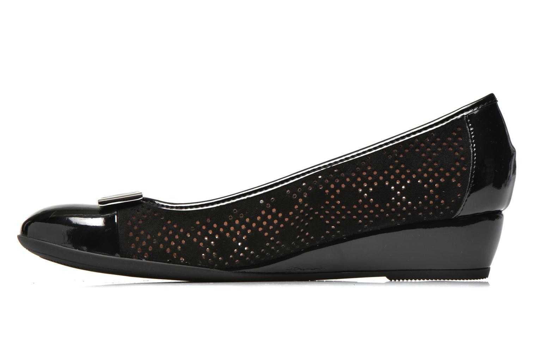 High heels Stonefly Maggie II 2 Black front view