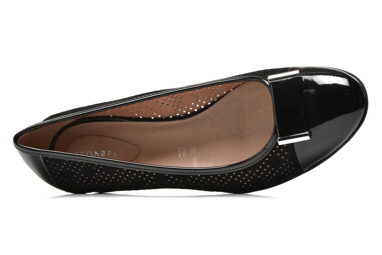 Zapatos de tacón Stonefly Maggie II 2 Negro vista lateral izquierda
