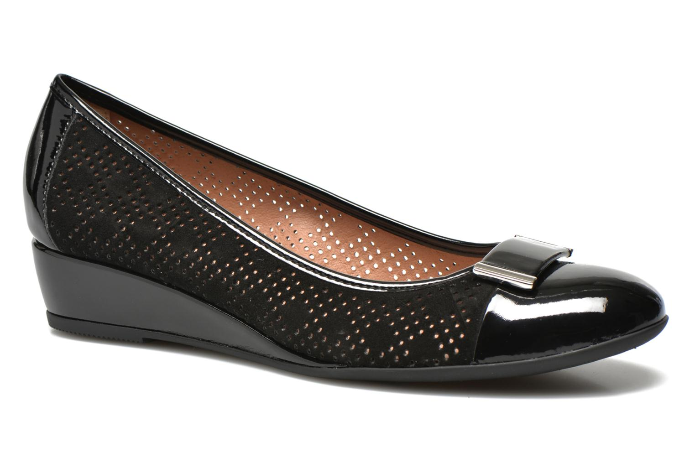 High heels Stonefly Maggie II 2 Black detailed view/ Pair view