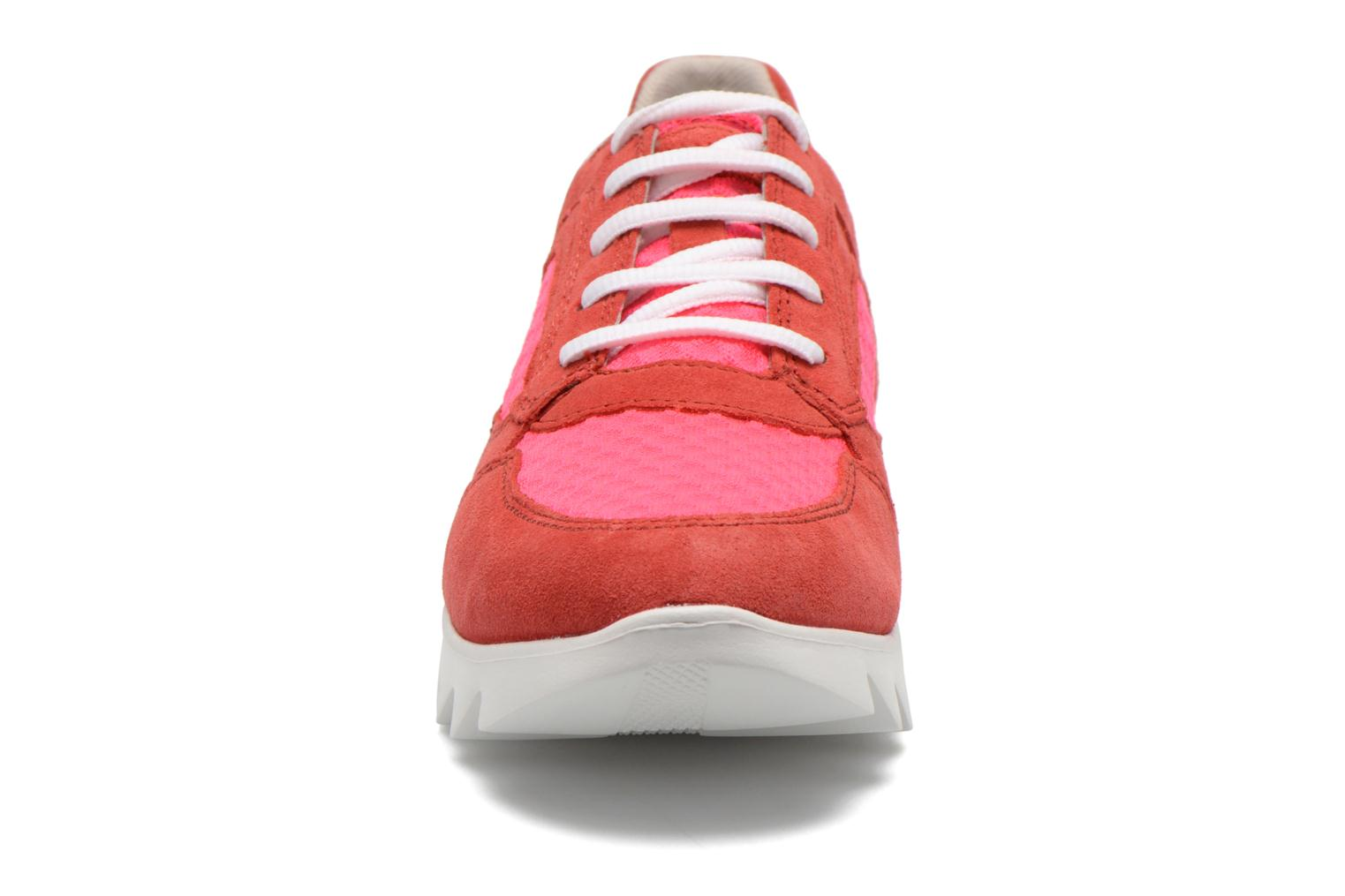 Baskets Stonefly Speedy Lady 2Nd Skin Rose vue portées chaussures