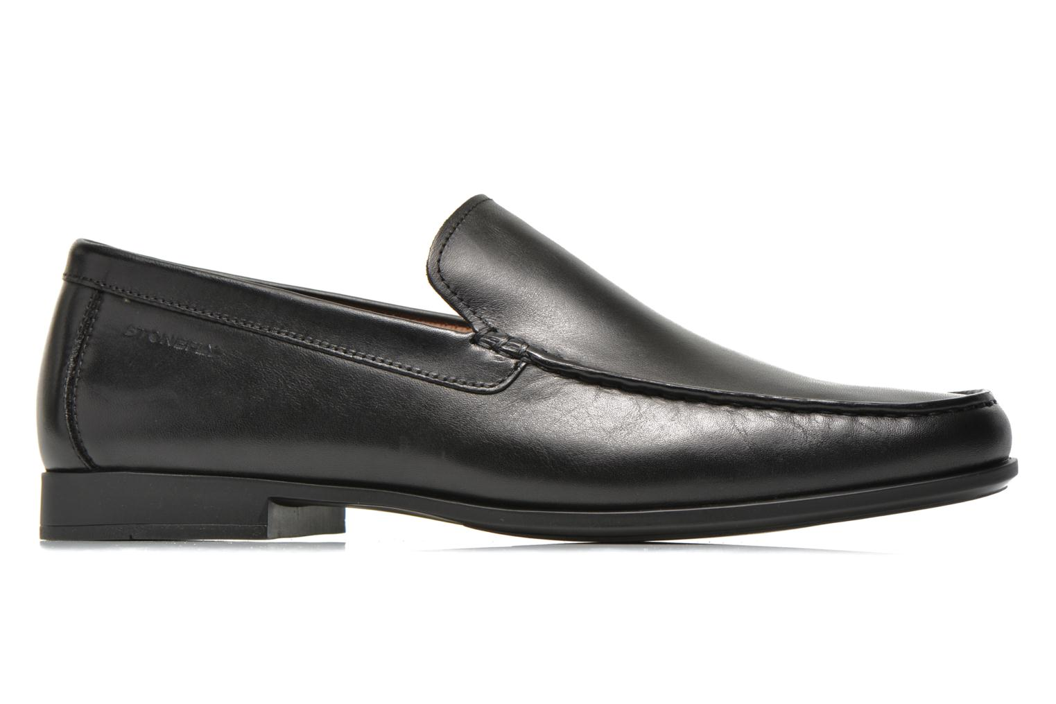 Loafers Stonefly Summer II 1 Black back view