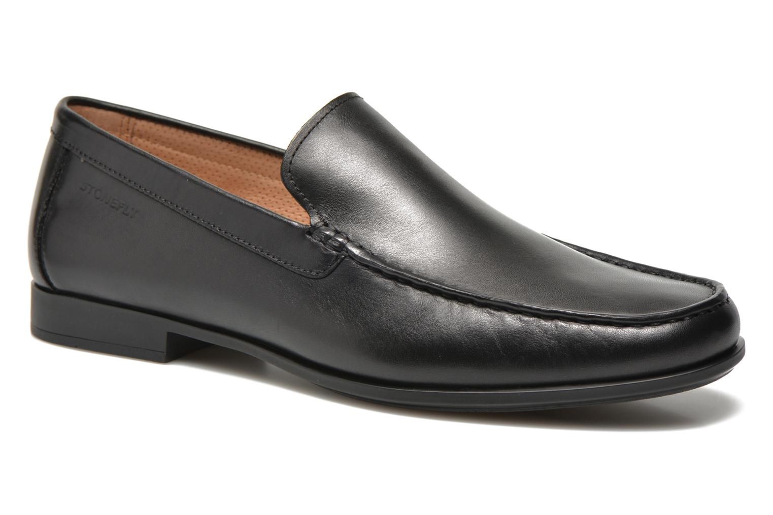Loafers Stonefly Summer II 1 Black detailed view/ Pair view
