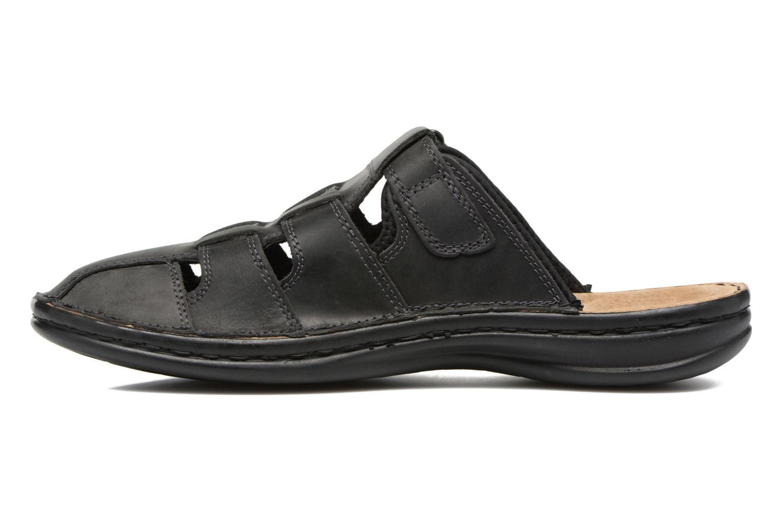 Sandales et nu-pieds TBS Easy Walk Bassoa Noir vue face