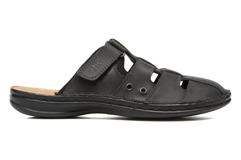 Sandales et nu-pieds TBS Easy Walk Bassoa Noir vue derrière