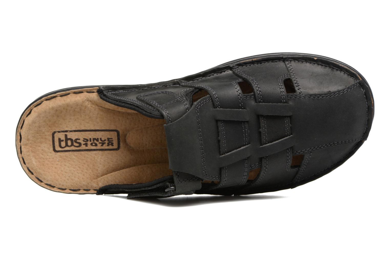 Sandales et nu-pieds TBS Easy Walk Bassoa Noir vue gauche