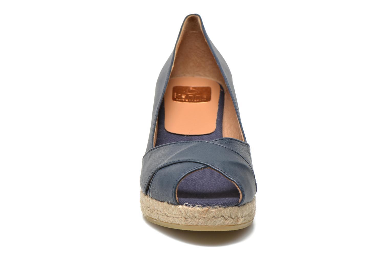 Espadrilles Kanna Madame Bleu vue portées chaussures