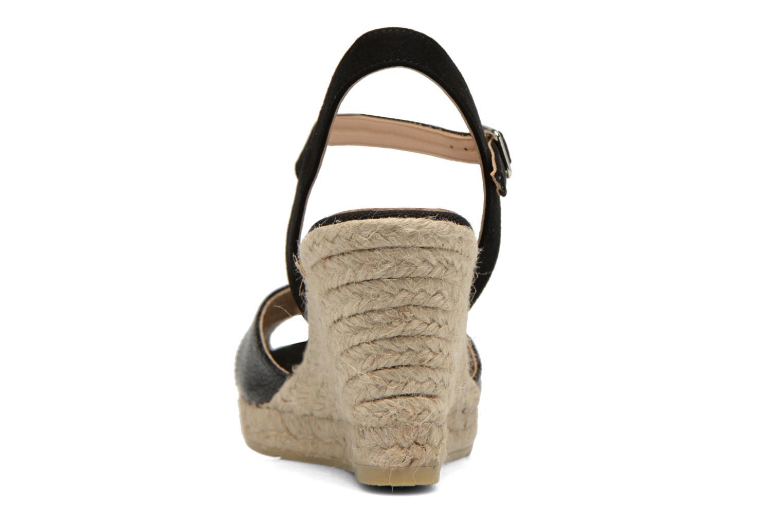 Sandales et nu-pieds Kanna Camoa Noir vue droite