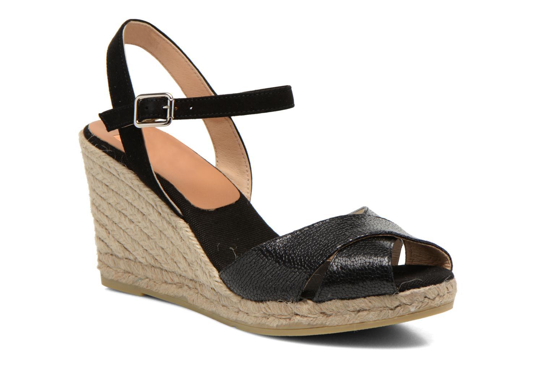 Sandales et nu-pieds Kanna Camoa Noir vue détail/paire