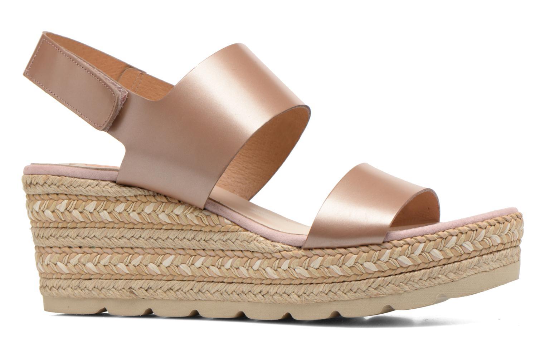 Sandales et nu-pieds Kanna Félicité Beige vue derrière