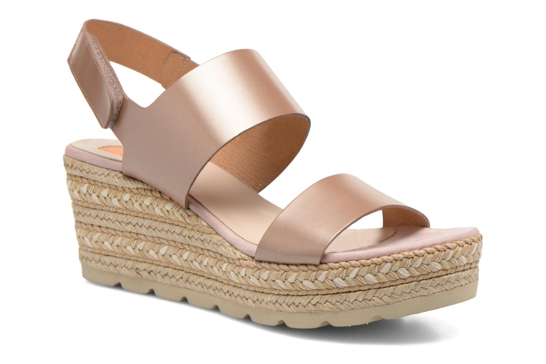 Sandales et nu-pieds Kanna Félicité Beige vue détail/paire