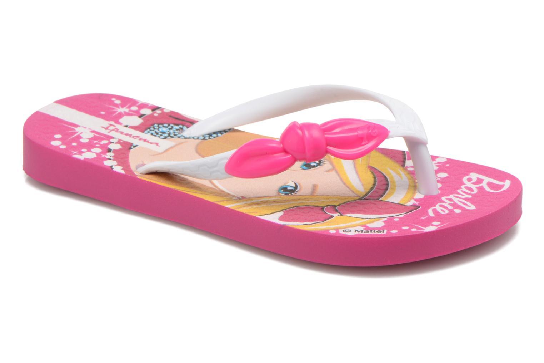 Chanclas Ipanema Barbie Style Kids Rosa vista de detalle / par