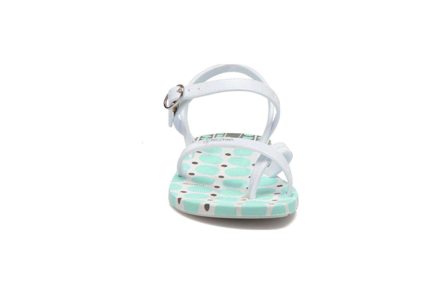 Fashion Sandal III Kids White/white/green