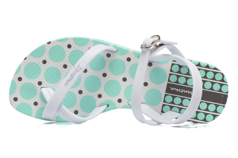 Fashion Sandal III Kids White/white/green