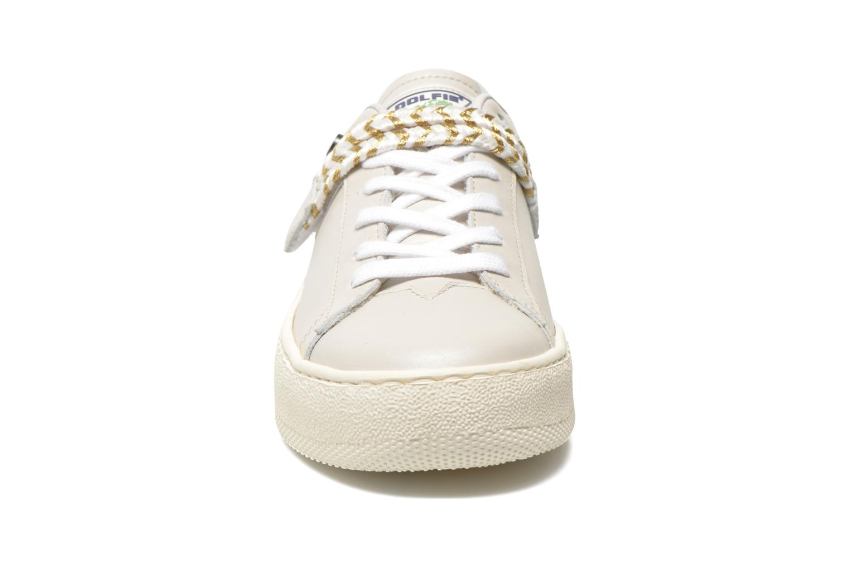 Baskets Dolfie Lauren Beige vue portées chaussures