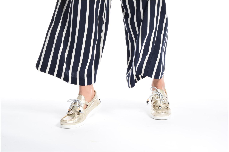 Chaussures à lacets Dolfie Landom Rose vue bas / vue portée sac
