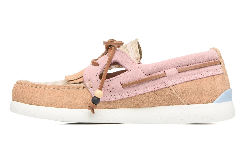 Chaussures à lacets Dolfie Landom Rose vue face