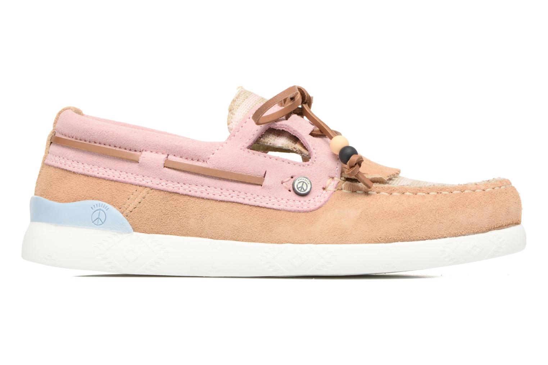Chaussures à lacets Dolfie Landom Rose vue derrière