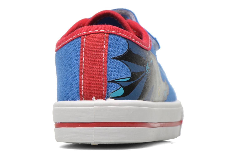 Sneakers Batman Bat Calepino Azzurro immagine destra