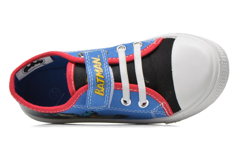 Sneakers Batman Bat Calepino Azzurro immagine sinistra