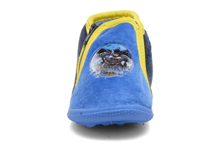 Chaussons Batman Bat Agenais Bleu vue portées chaussures