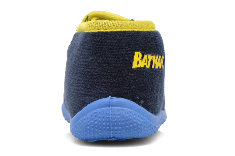 Chaussons Batman Bat Agenais Bleu vue droite