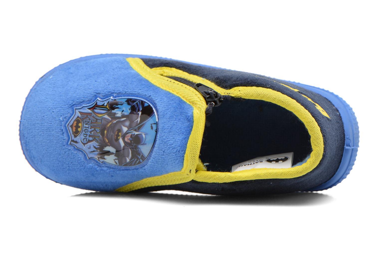 Chaussons Batman Bat Agenais Bleu vue gauche