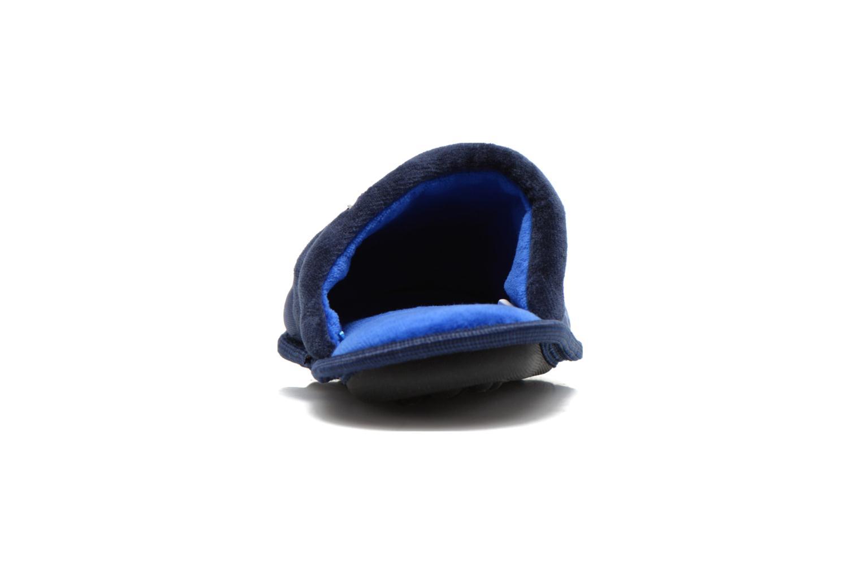 Chaussons Batman Bat Bamiyan Bleu vue droite