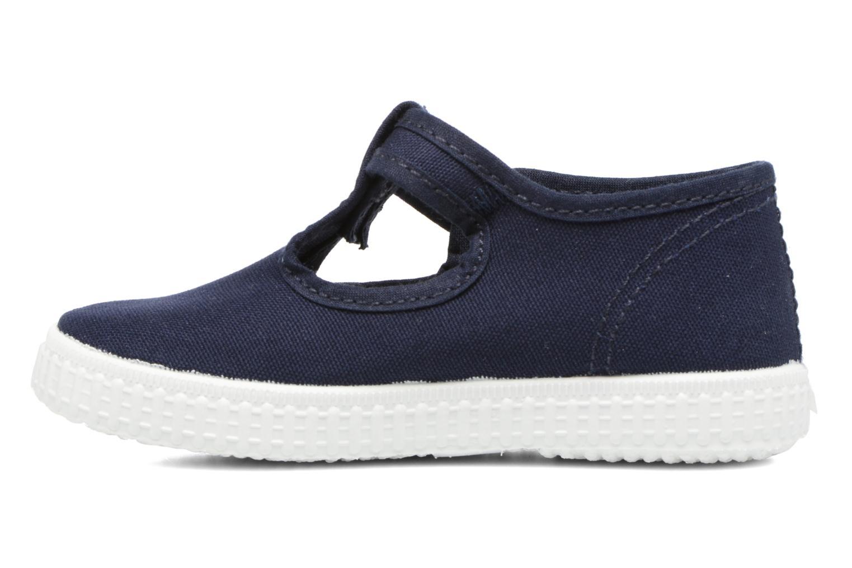 Sneaker Cienta Foliv blau ansicht von vorne