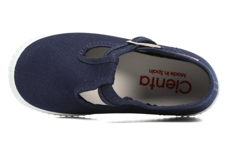 Sneaker Cienta Foliv blau ansicht von links