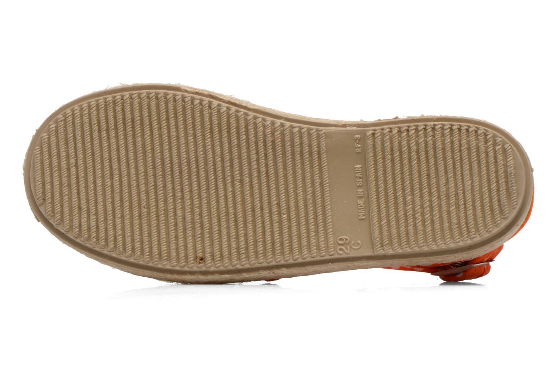 Sandales et nu-pieds Cienta Margot Orange vue haut