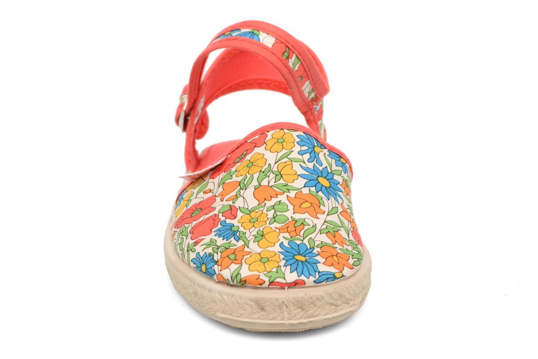 Sandales et nu-pieds Cienta Margot Multicolore vue portées chaussures