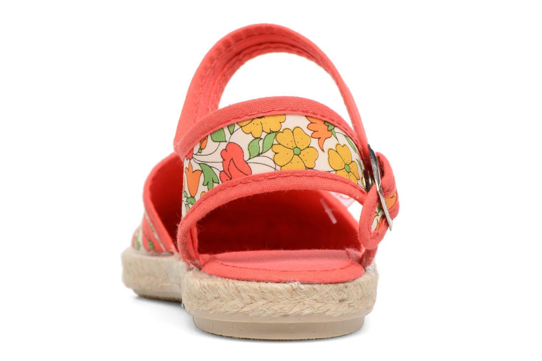 Sandales et nu-pieds Cienta Margot Multicolore vue droite