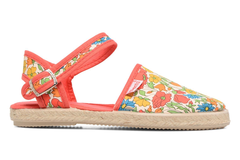 Sandales et nu-pieds Cienta Margot Multicolore vue derrière