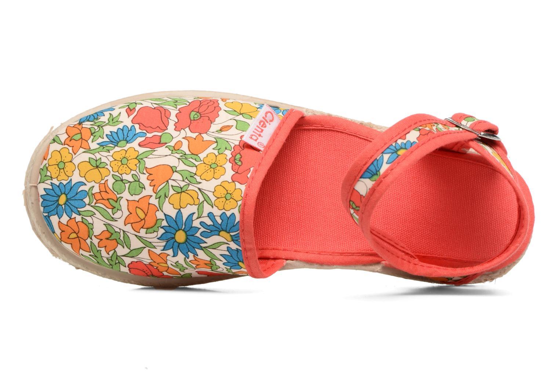 Sandales et nu-pieds Cienta Margot Multicolore vue gauche