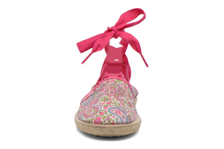 Sandales et nu-pieds Cienta Alicia Rose vue portées chaussures
